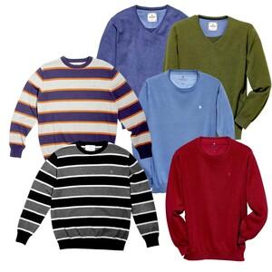 Herren-Pullover versch. Farben, Modelle und Größen, je