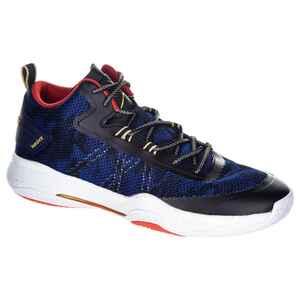 Basketballschuhe SC500 Mid Erwachsene Fortgeschrittene blau/rot