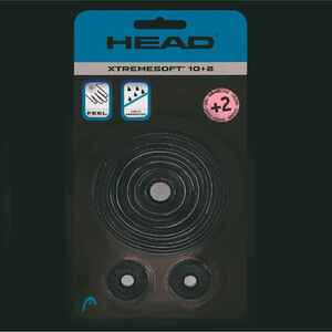Griffband Xtreme Soft Tennisschläger 12er-Pack Overgrip schwarz