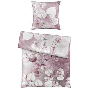 Esposa Bettwäsche satin pink 155/220 cm , Lea , Textil , Floral , 155x220 cm , Satin , 008105019701