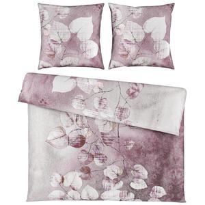 Esposa Bettwäsche satin pink 200/200 cm , Lea , Textil , Floral , 200x200 cm , Satin , 008105019801