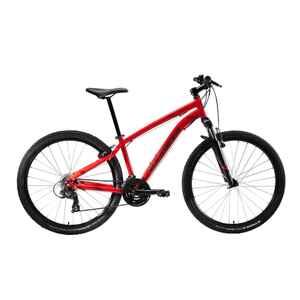 Mountainbike ST 100 U-Fit 27,5 Zoll rot