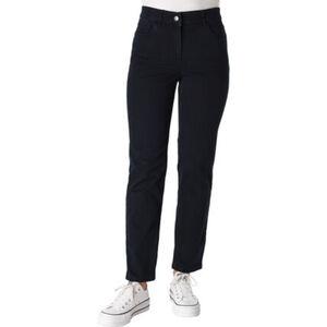Zerres Jeans, Regular Fit, Comfort-Taille, Strass-Besatz, unifarben