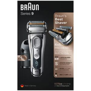Braun Series 9 9375cc Akkurasierer, Wet & Dry, Chrom