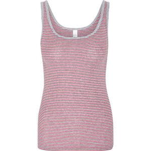 Speidel Unterhemd, Ärmellos, Streifen, Rundhals-Ausschnitt, für Damen