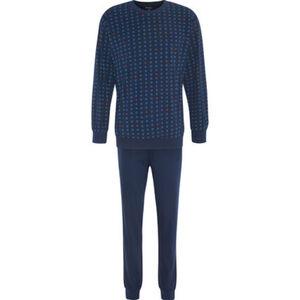 Dunmore Schlafanzug, Minimal-Print, Langarm, Rundhals, für Herren