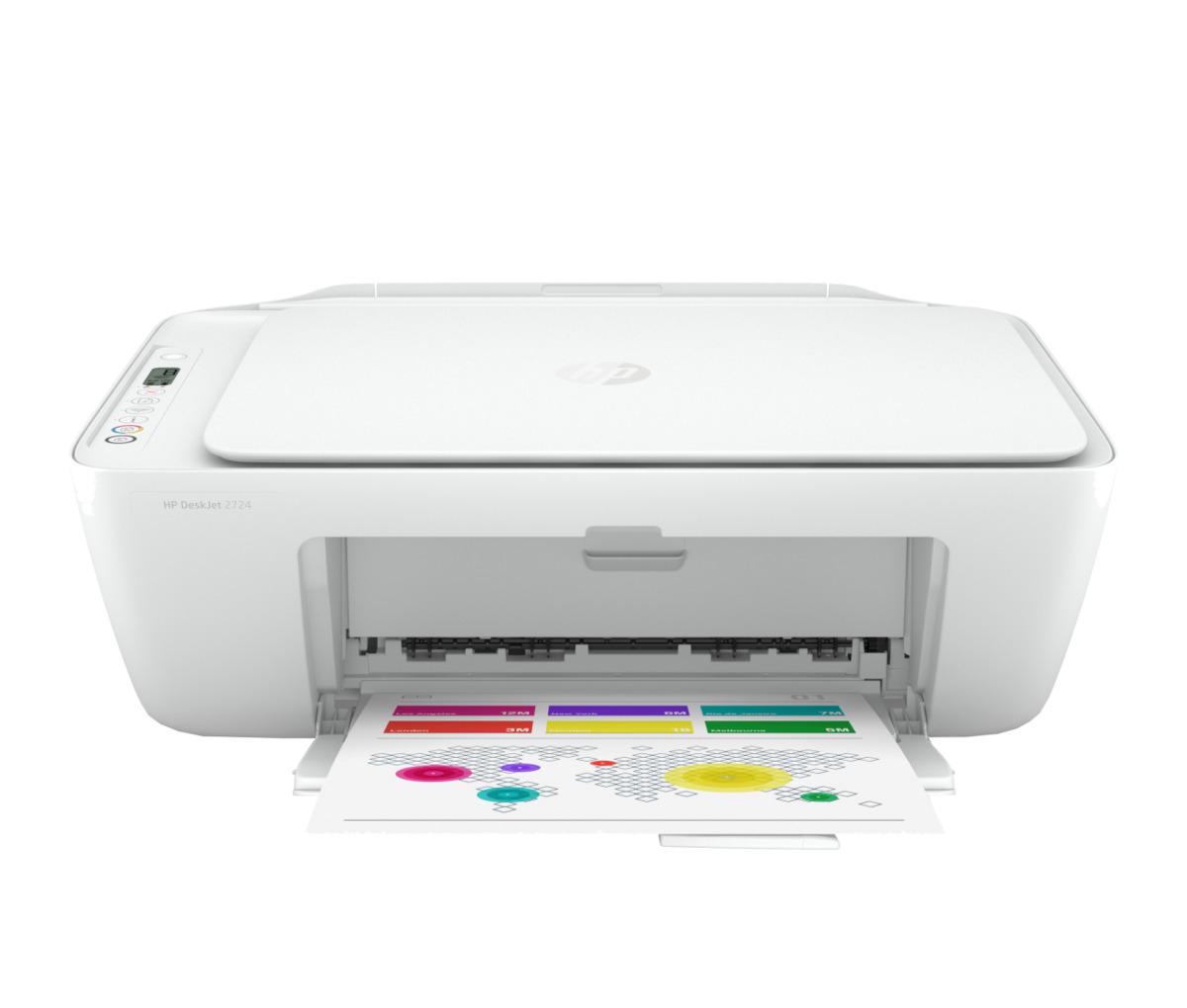 Bild 2 von HP All-in-One Drucker DeskJet 2724