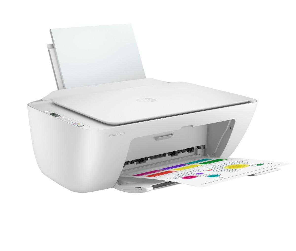 Bild 3 von HP All-in-One Drucker DeskJet 2724
