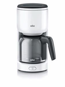 Braun Filterkaffeemaschine KF 3120.WH, Wasserfilter, 10-Tassen Aroma-Kanne