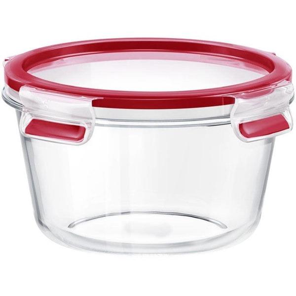Emsa Frischhaltedose CLIP & CLOSE Glas rund 0,90 Liter