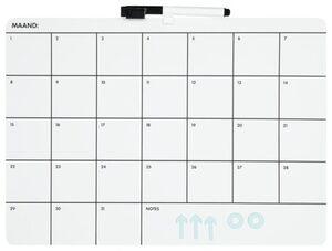 HEMA Weißwandtafel-Monatsplaner, 28 X 39 Cm