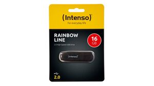Intenso USB-Stick 16GB, Rainbow-Line