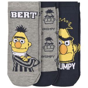 3 Paar Sesamstraße Sneaker-Socken im Set