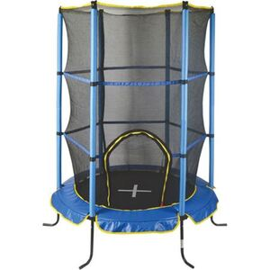 Indoor-Trampolin mit Sicherheitsnetz 140cm