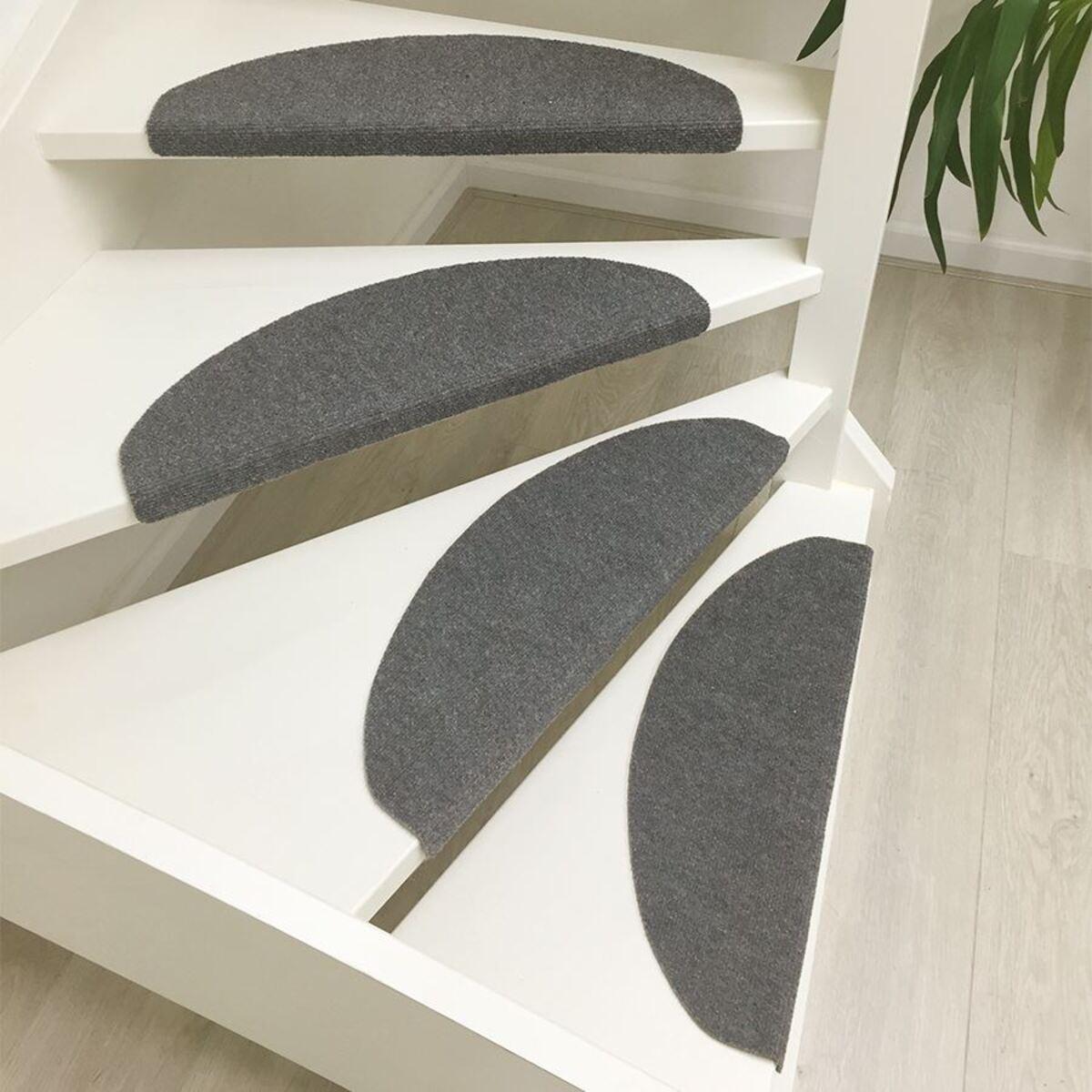 Bild 1 von Stufenmatten-Set Grau-Meliert 15-teilig