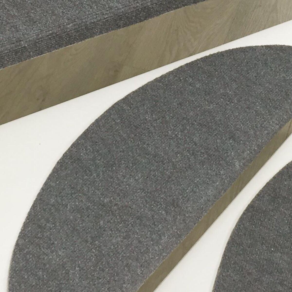 Bild 2 von Stufenmatten-Set Grau-Meliert 15-teilig