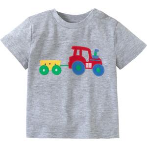 Baby T-Shirt mit Trecker-Applikation