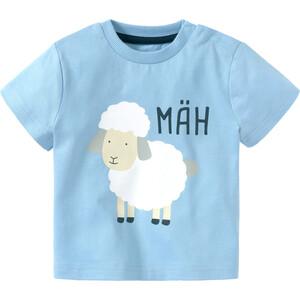 Baby T-Shirt mit Schaf-Print
