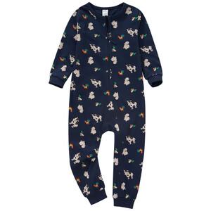 Baby Schlafanzug mit Allover-Print