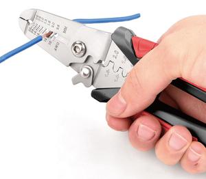 Kraft Werkzeuge Multifunktionale Abisolierzange 180mm