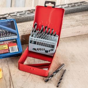 Kraft Werkzeuge Holzbohrer-Set - 19tlg.