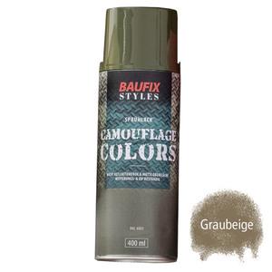 Baufix Camouflage-Sprühlacke - Graubeige