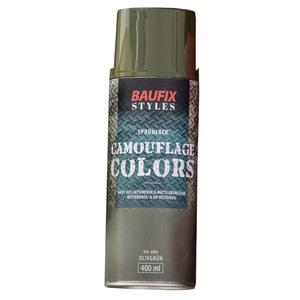 Baufix Camouflage-Sprühlacke - Olivgrün