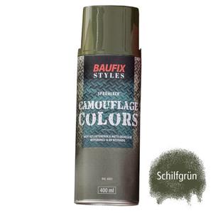 Baufix Camouflage-Sprühlacke - Schilfgrün