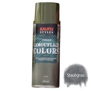 Baufix Camouflage-Sprühlacke - Staubgrau
