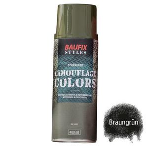 Baufix Camouflage-Sprühlacke - Braungrün