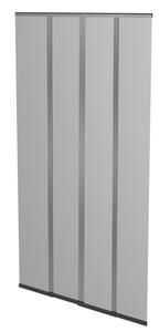 Powertec Plus Fliegengitter Türvorhang 100x220cm Anthrazit