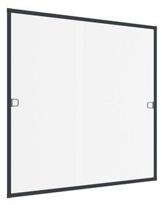 Powertec Insektenschutz -Fenster 130x150cm Rhino Anthrazit