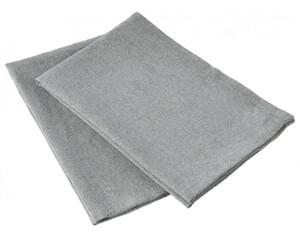 2er-Pack Geschirrtuch silber 40 x 60 cm