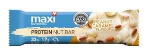 MaxiNutrition Protein Nut Bar Peanut Caramel Flavour