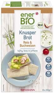 enerBiO Knusperbrot Reis & Buchweizen