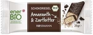 enerBiO Schokoriegel Amaranth & Zartbitter