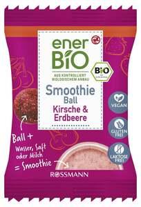 enerBiO Smoothie Ball Kirsche & Erdbeere