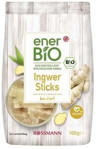 enerBiO Ingwer Sticks