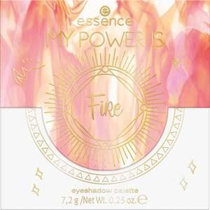 essence MY POWER IS FiRe eyeshadow palette 03