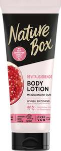 Nature Box Revitalisierende Body Lotion mit Granatapfel-Duft