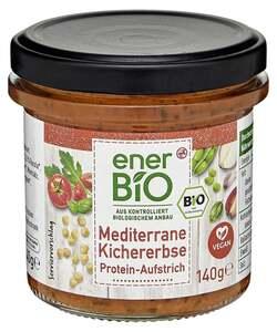 enerBiO Mediterrane Kichererbse Protein-Aufstrich