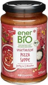 enerBiO Vegetarische Pizza Suppe