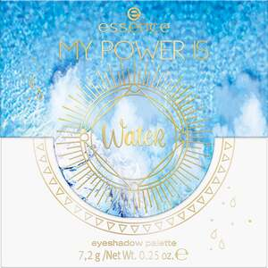 essence MY POWER IS WateR eyeshadow palette 04