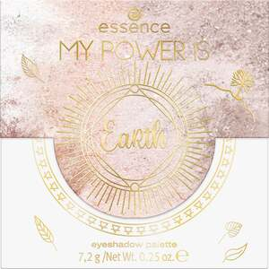 essence MY POWER IS EaRth eyeshadow palette 02