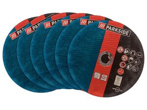 PARKSIDE® Trennscheiben-Set »PMTSZ 6 A1« für Metalltrennschneider