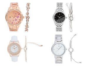 AURIOL® Armbanduhr Damen, mit Metallgehäuse