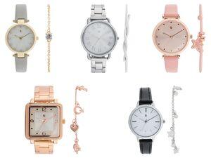 AURIOL® Armbanduhr Geschenkeset Damen, mit Armband