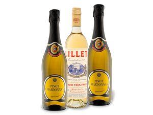 3 x 0,75-l-Flasche Weinpaket Valentinstag für die Frau