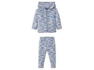 LUPILU® Baby Fleeceanzug Jungen, mit Kinnschutz