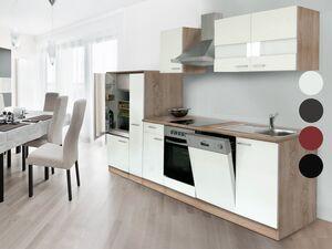 respekta Küchenzeile Eiche Sonoma Sägerau, B 210-310 cm